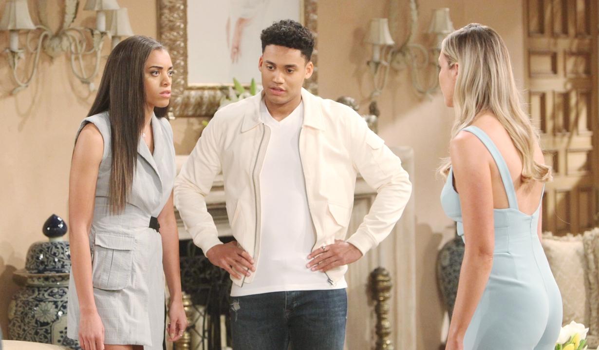 Beautiful, puntate 20-24 luglio: Xander, Flo e Zoe sospettano del padre di Douglas