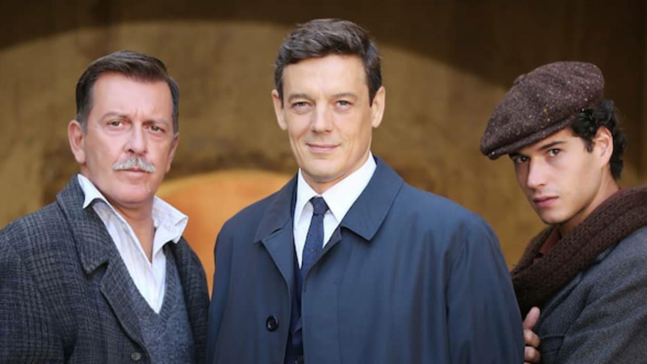 Il Paradiso delle signore - Giorgio Lupano visto sul set della 6° serie della soap opera