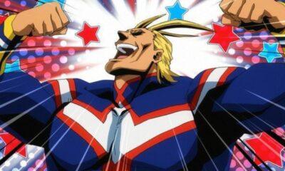 My Hero Academia: la fan art di All Might come Saitama
