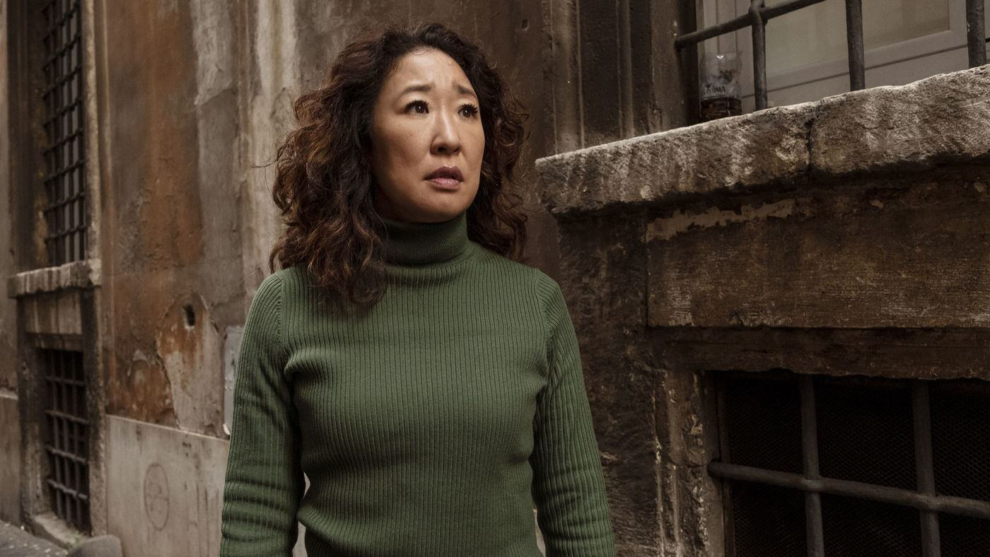 Sandra Oh in Killing Eve, Gogo Magazine
