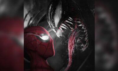 La Fan Art di Spider-Man 3 mostra Venom che incombe su Spider-Man + spider man + venom