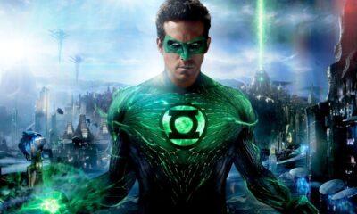 Ryan Reynolds riedifica Lanterna Verde + lanterna verde