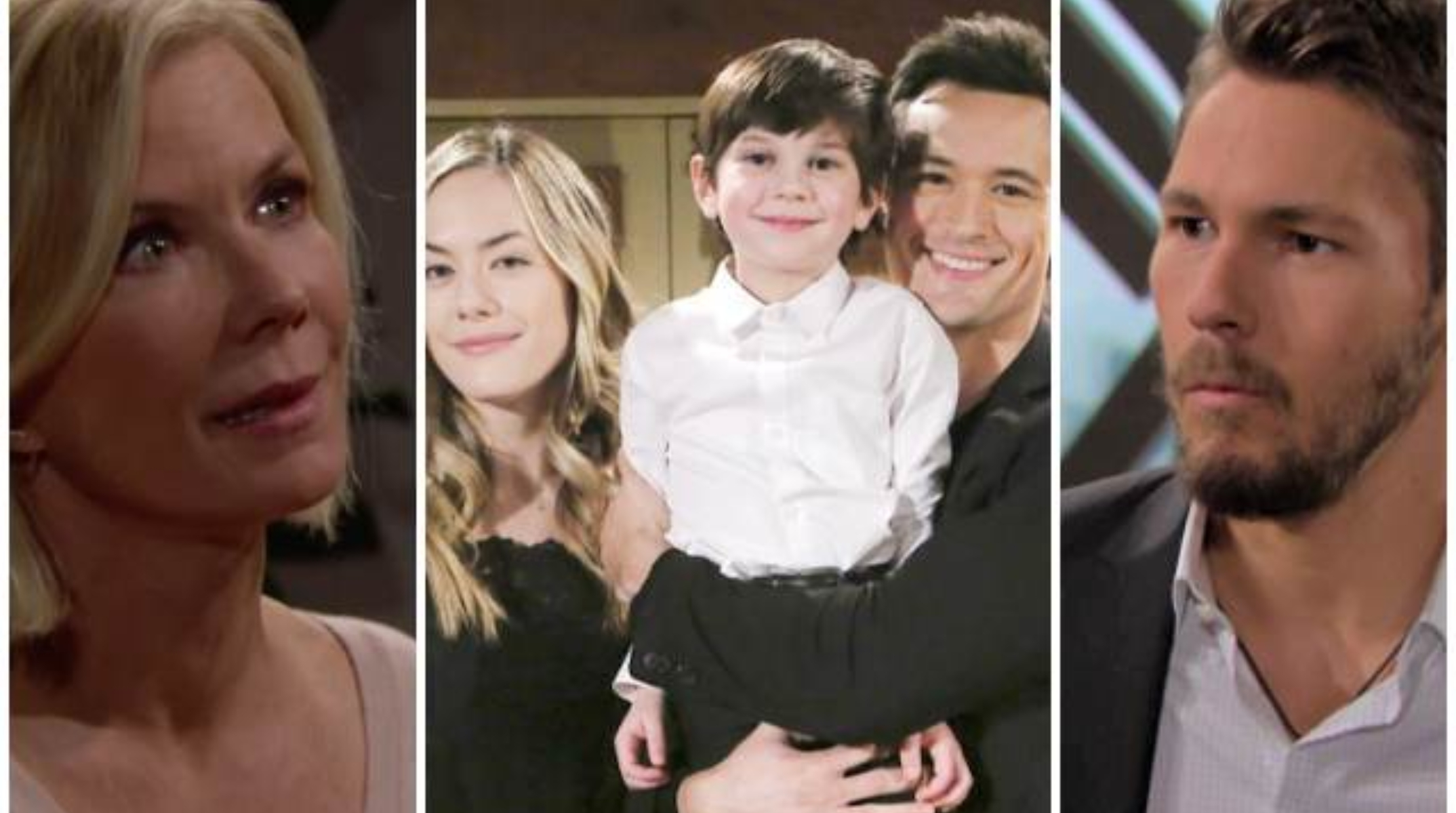 Beautiful, trame 7-11 settembre: Brooke e Liam contrari alle nozze di Hope