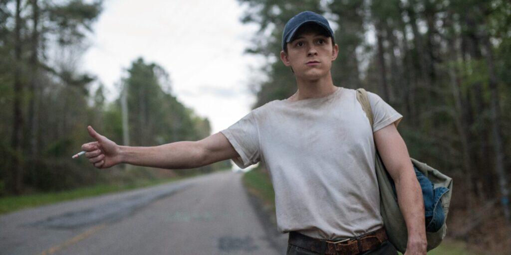 Tom Holland nel film Netflix Le strade del male, Gogo Magazine