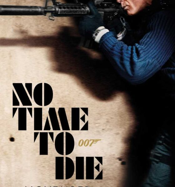 Il nuovo poster No Time to Die + poster no time to die