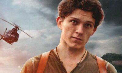 Tom Holland soddisfatto dal film Uncharted + tom holland
