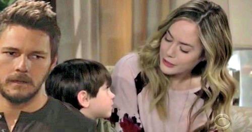 Beautiful - Liam informa Hope del ritrovamento della figlia