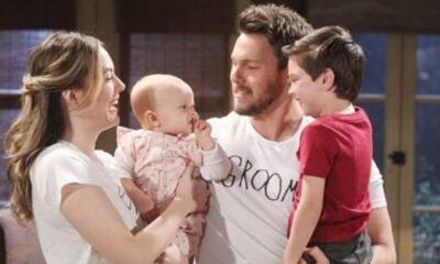 Beautiful, puntate ottobre: Hope e Liam felici di aver ritrovato la figlia