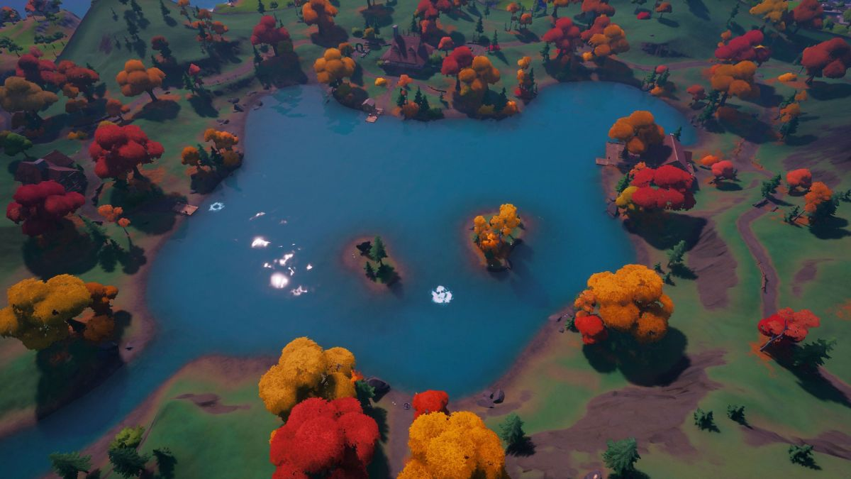 fortnite heart lake