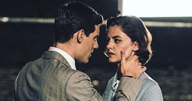 Il paradiso delle signore - Nicoletta e il padre di Margherita si lasciano andare alla passione