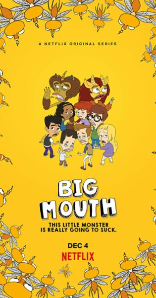 Novità Netflix - Big Mouth 4