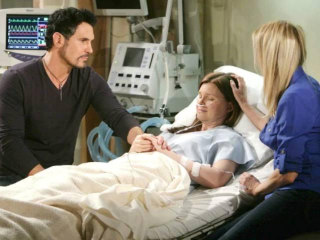 Beautiful, puntate 14-19 dicembre: Brooke incoraggia Katie a lottare