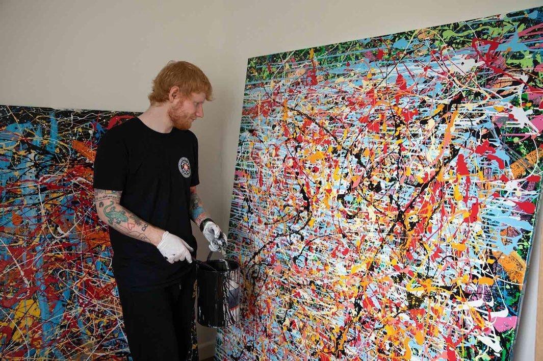 Ed Sheeran Copertina Singolo Afterglow