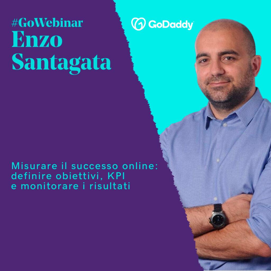 santagata misurare successo online godaddy gowebinar