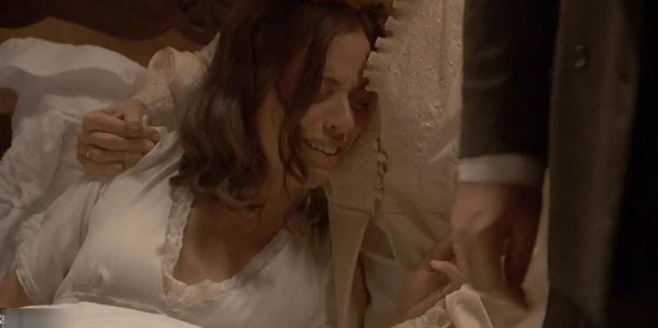 Il Segreto, ultime puntate: Marta abortisce per le percosse ricevute dal marito