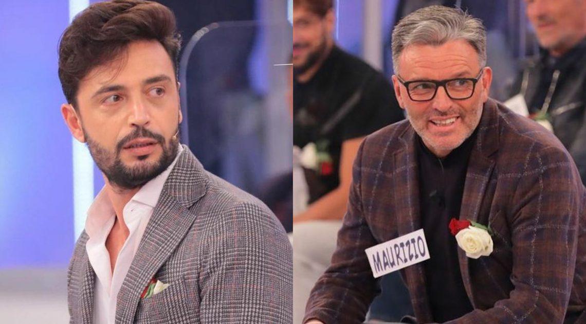 Uomini e Donne: Armando smaschera Maurizio? La segnalazione