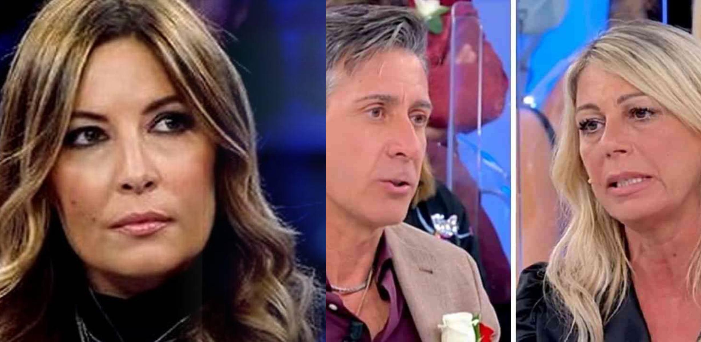 """Uomini e Donne, Lucarelli sulla lite Aurora-Giancarlo: """"Diseducativo"""""""