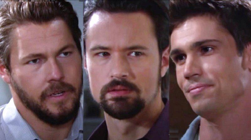 Beautiful - Liam, Finn e Thomas sospettati della morte di Vinny