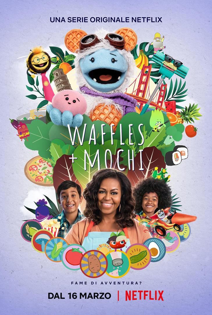 Novità Netflix - Waffles + Mochi - serie tv Michelle Obama
