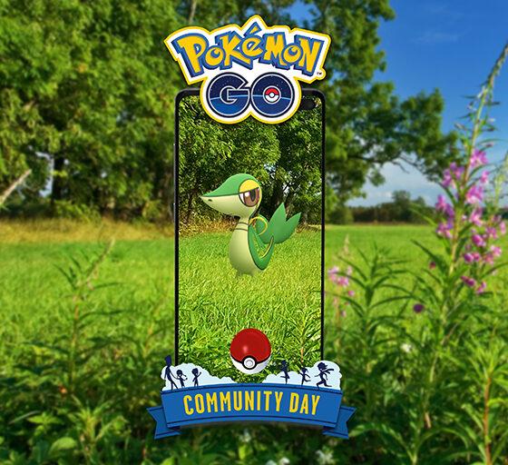 pokemon go snivy community day