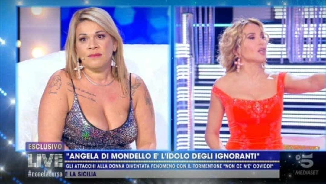 """Angela da Mondello - """"Mi hai rovinato 8 mesi di vita perché ero felice e tranquilla"""""""