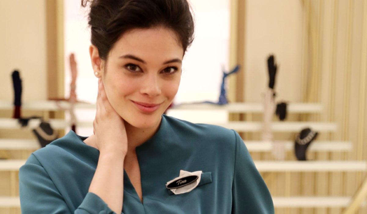 Il Paradiso delle signore: l'attrice Neva Leoni vista sul set della soap opera