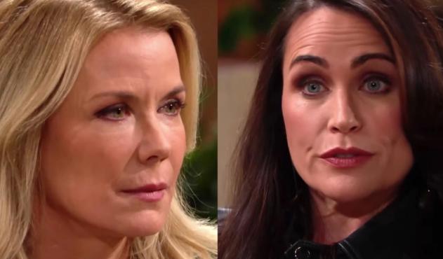 Beautiful, puntate americane: Brooke ha dei sospetti su Quinn e Eric