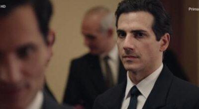 """Il Paradiso delle signore L'attore Luca Bastianello: """"Metterò Vittorio al muro"""""""