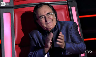 """Albano Carrisi fuori da The Voice Senior e su Romina: """"E' scesa la notte"""""""
