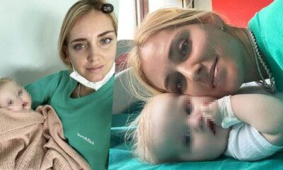 Paura per Vittoria, la figlia di Fedez: ricoverata di nuovo in ospedale